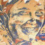 """Bild: Acryl auf Leinwand, Titel """"Katharina"""""""