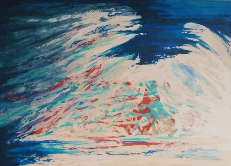 "Bild: Acryl auf Leinwand, Titel ""Milonga del Angel"""