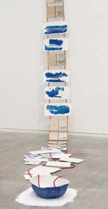 """Foto: Installation """"Blauwasserreisen"""" von Anna- D. Merkord"""