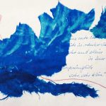 """Bild: Collage aus zerrissenem Papier, Titel """"Zwischentöne2"""""""